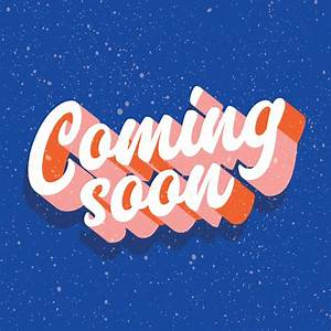 Coming, Soon, Typography, Vector, Design, 621856