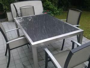Gartentisch Mit Steinplatte Herrlich Gartentisch Steinplatte