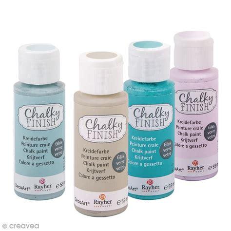 coloris peinture cuisine peintures chalky finish glass rayher pour verre 59 ml