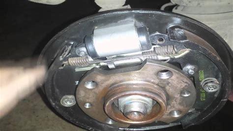 troca da sapata pastilhas tambor  fluido de freios