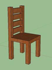 dessin d une chaise modéliser une chaise avec sketchup en quelques é