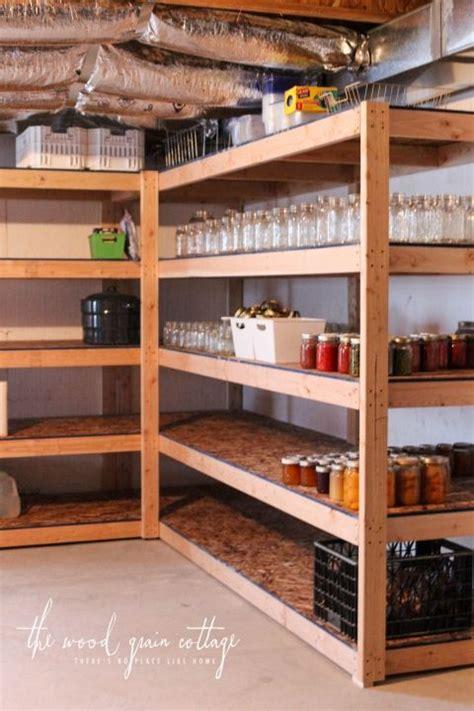Build A Workshop Closet by Best 25 Building Shelves Ideas On Building