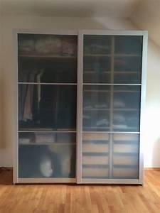 Ikea Pax Birke : ikea schiebet ren aus milchglas alu f r pax schrank in freising ikea m bel kaufen und ~ Yasmunasinghe.com Haus und Dekorationen