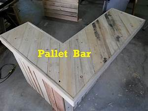 Terry in the Garage, Pallet Bar, Part 1 - YouTube