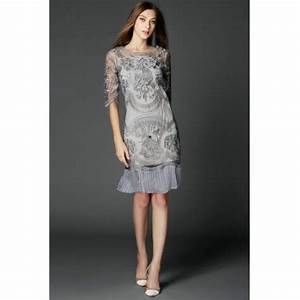 robe chic dentelle robe de soiree robe de cocktail robe With robe soirée mi longue