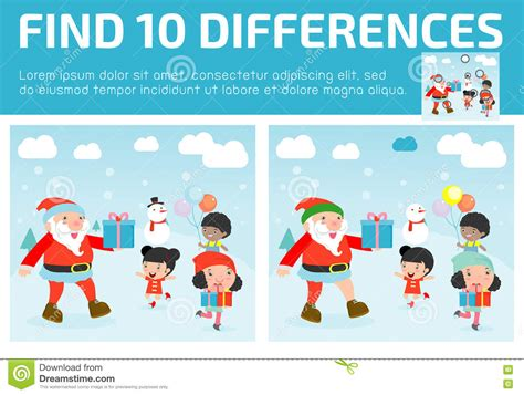 find differences for find differences brain 173 | find differences game kids find differences brain games children game educational game preschool children vector 79270459