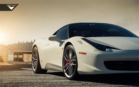 Ferrari 458 Italia Vorsteiner V Ff 105 Wheels4 Wallpaper