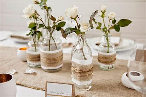 diy pour une decoration table chic  rustique mariagecom