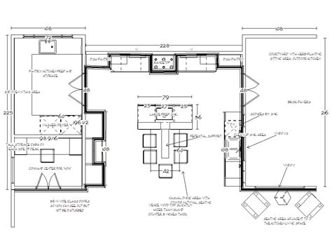 gourmet kitchen floor plans iconic inspirations kitchens in detail interiors 3877