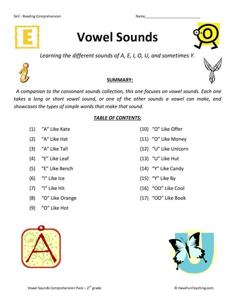 printable worksheets 187 vowel y worksheets printable
