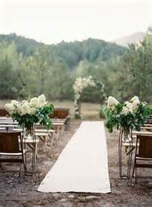 outdoor wedding aisle 69 outdoor wedding aisle decor ideas happywedd