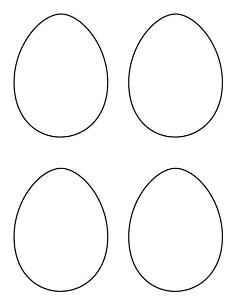 Small Easter Egg Template by Crafts The O Jays And Stencils On