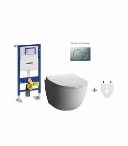 Wc Suspendu Sans Bride : pack wc suspendu geberit sans bride banyo ~ Dailycaller-alerts.com Idées de Décoration