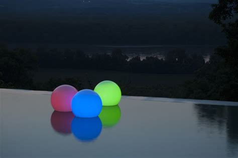 light up orbs for pool buy floating orb light with 54 led lights 8012