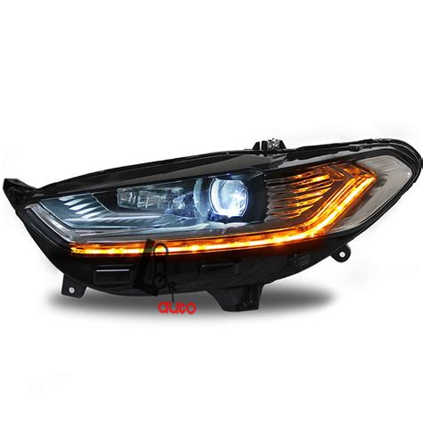 for 2014 2015 ford mondeo fusion headlights with led drl