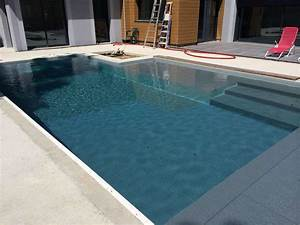 liner piscine gris clair frdesignerco With piscine liner gris fonce