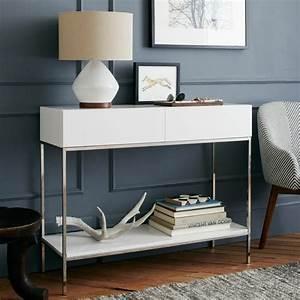 Console Entree Blanche : console moderne 50 id es de meubles et conseils d co ~ Teatrodelosmanantiales.com Idées de Décoration