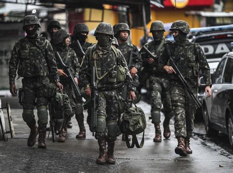 Brazil Called Up The Military To Control Violence In Rio