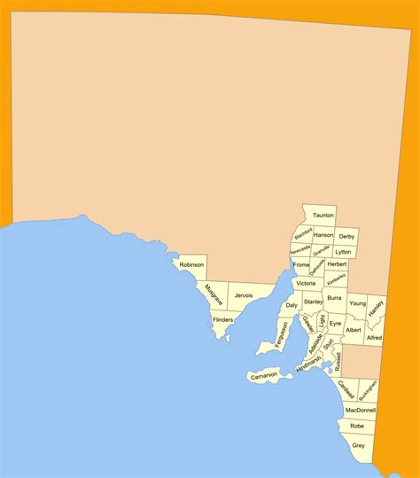 lands administrative divisions  south australia wikipedia