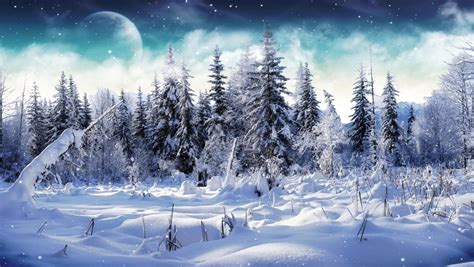Winter Snow Animated Wallpaper - cold winter animated wallpaper desktopanimated