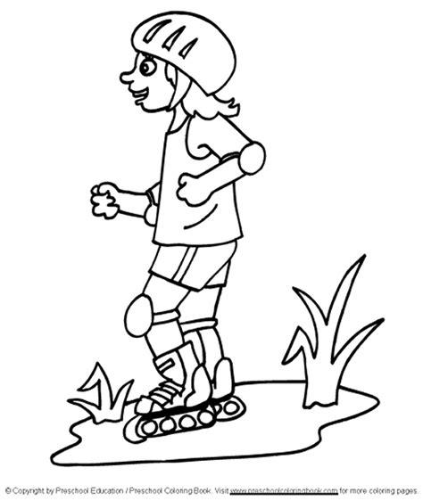 preschool summer coloring page getcoloringpages 734 | 6ket2ol