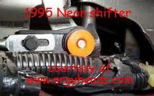 Dodge Plymouth Neon PT SRT 4 Booger shifter bushings