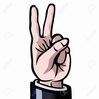 Fingers Clipart Number Vector Finger Hand Conclusion