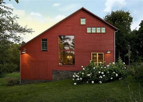 barn converted to house architecture barn dusk converted pole barn homes home
