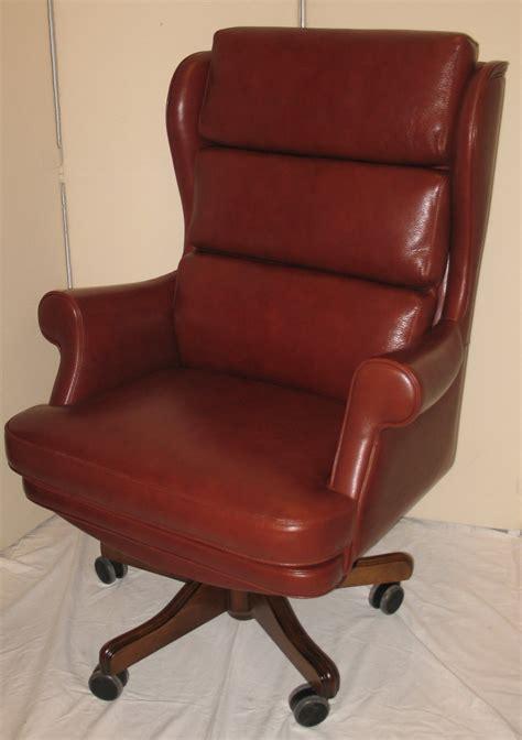 Fauteuil Bureau Cuir Chaise De Bureau Bois Lepolyglotte