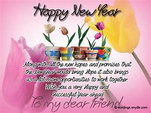 New Year Messages for Friends - Wordings and Messages