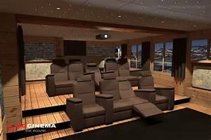 Cinema A La Maison : des salles de cin ma la maison r alis es sur mesure ~ Louise-bijoux.com Idées de Décoration