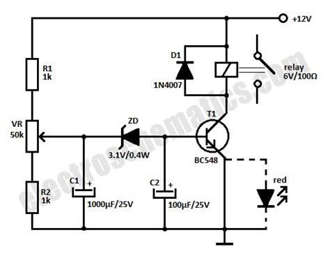 Time Delay Relay Circuit