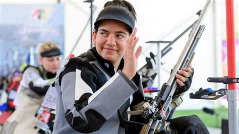 Anjum Moudgil Takes Silver Issf Shooting World Cup