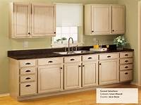kitchen cabinets pictures Rust-Oleum Linen Glazed Cabinets & Java Stone Countertops   Renovations   Pinterest   Stone ...