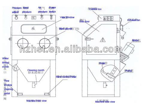 Abrasive Blast Cabinet Plans by Wet Blast Cabinet Gloves Mf Cabinets