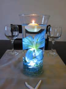 Diy Tiffany Blue Room Decor by Ocean Blue Tiger Lily Wedding Centerpiece Kit Blue Marbles And
