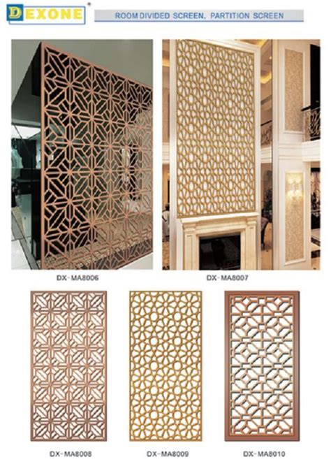 decorative aluminum laser cut metal screens  exterior garden courtyard panels view laser