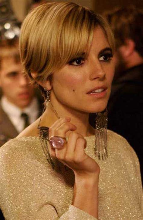 sienna miller pixie cut short hairstyles
