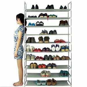 Schuhschrank Für 100 Paar Schuhe : schuhregal schuhschrank schuhablage stoff schuhst nder f r 50 paar schuhe ebay ~ Frokenaadalensverden.com Haus und Dekorationen