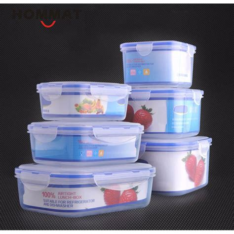 kitchen storage boxes set of 3 pcs plastic kitchen storage boxes lunch boxs 3126