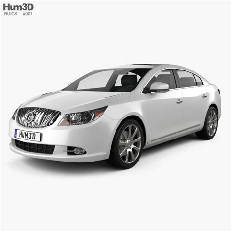 Buick Lacrosse Models by Buick Lacrosse Alpheon 2011 3d Model Hum3d
