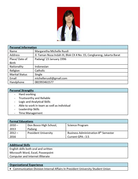 class curriculum vitae and cover letter margaretha