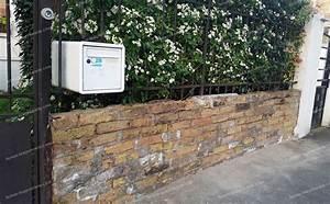 Nettoyer Mur Exterieur Bicarbonate : brique pour mur exterieur parement brique bois exterieur ~ Melissatoandfro.com Idées de Décoration