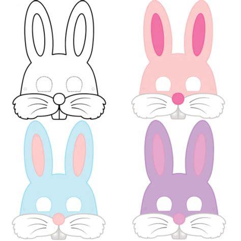 peindre une chambre masque de lapin à imprimer