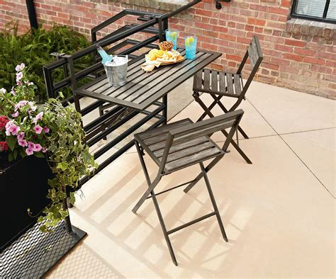 essential garden clinton 4 patio balcony set
