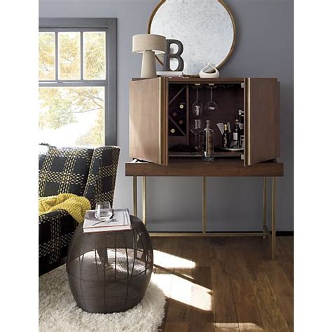 Crate And Barrel Bourne Bar Cabinet by Alfredo Ivory Wool Rug Bar Cabinets Crate And Barrel