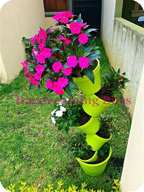 Cool Diy Flower Tower Ideas Page