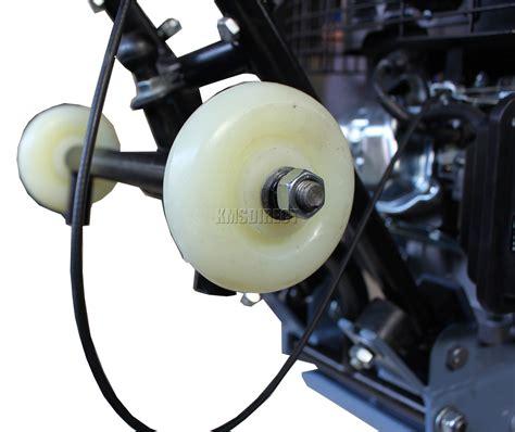 compactor plate compaction wheels 5hp petrol hs foxhunter wheel switzer
