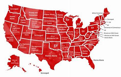 Christmas Movies Popular State States Each Oregon