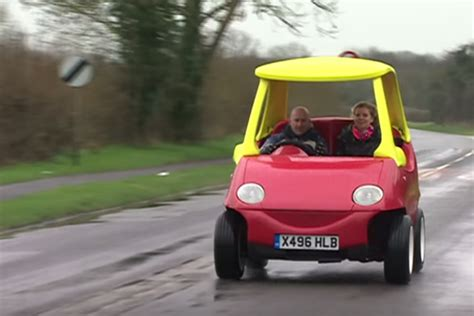 An Adultsized Toy Car That Can Reach Up To 70 Mph